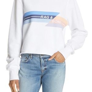 Rag and Bone cropped sweatshirt